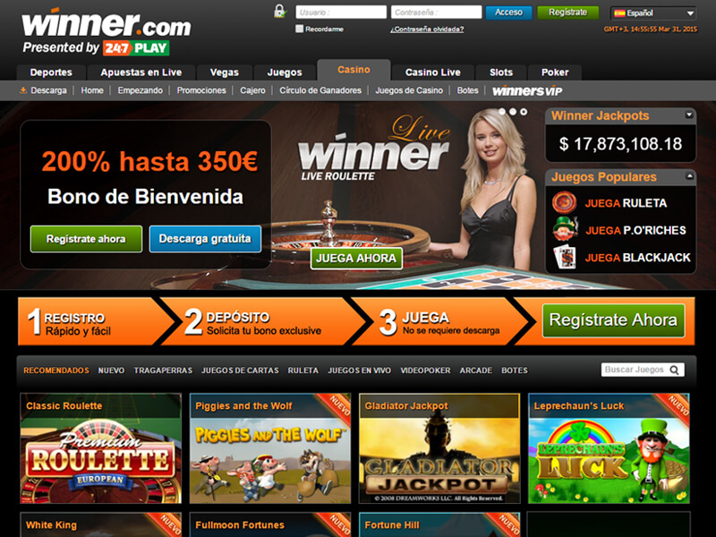 Winner Casino Online